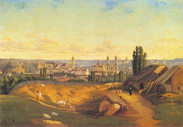 marszewski-widok_wilna_spod_gory_turowej-1872-litvan-muv-muzeum