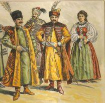 magyar-viseletek története,1600-as-evek-Nemes Mihály rajza