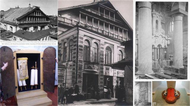a-nagy-zsinagoga-a-zsido-utcaban-vilnius-kollazs