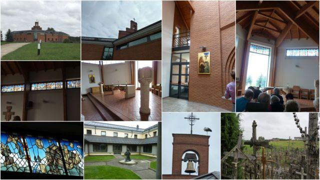 Ferences templom és kolostor, Keresztek hegye, kollázs