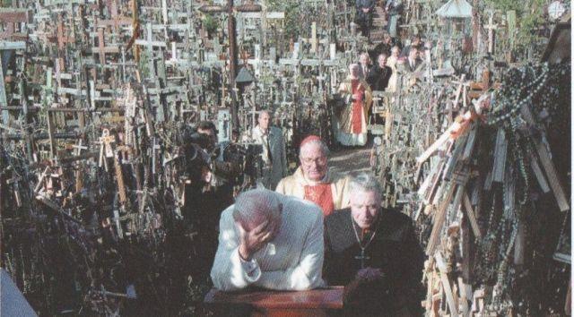 ii-janos-pal-papa-a-keresztek-hegyen-1993-szept-7