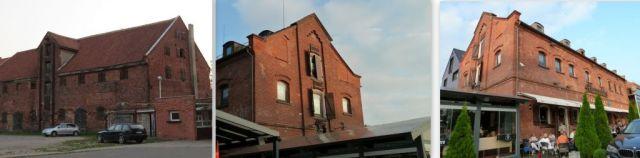 Klaipeda, volt raktárházak, kollázs