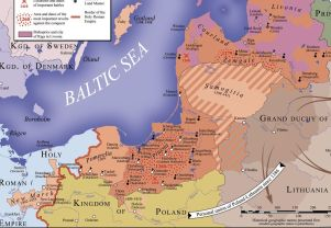 The staate of theTeutonic_Order_1260-1410, forrás_ Wikipedia