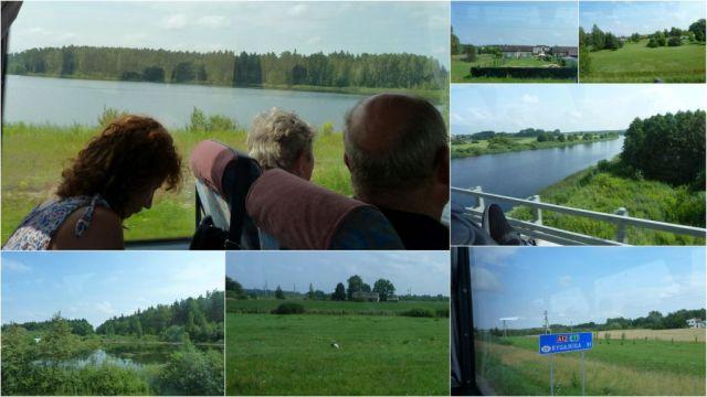 Úton Riga felé, kollázs 1
