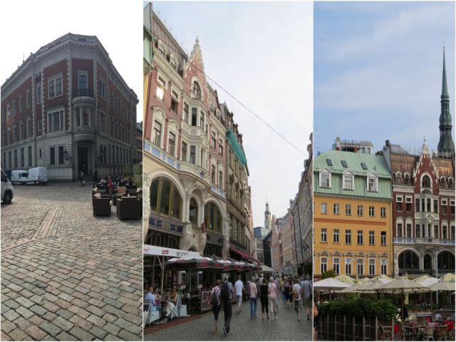 Riga, Dóm tér kollázs