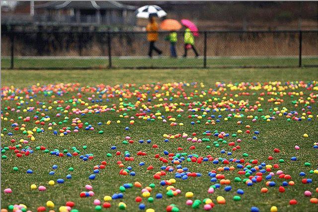 Húsvéti tojáskeresés - 2012 Dorchester II. János Pál park- Forrás John Tlumacki Boston Globe