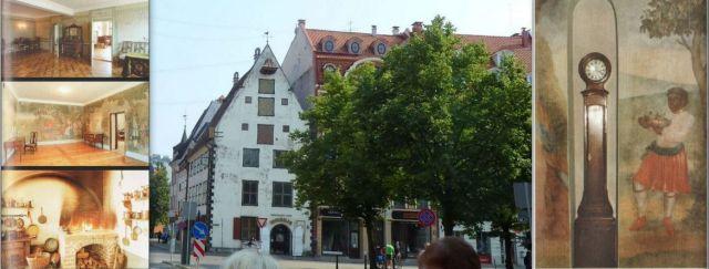Riga, Metzendorff ház, kollázs