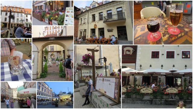 Riga, éttermek kollázs 2