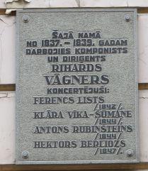 Riga IMG_7572 Gyö R. Wagner emléktábla