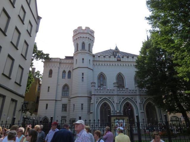 Riga IMG_7577 Gyö Liv tér Kis céh ház