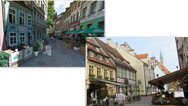 Riga, kisvendéglők