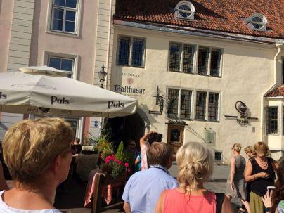 Tallinn IMG_2508 Balthasar átjáró, Városháza téren