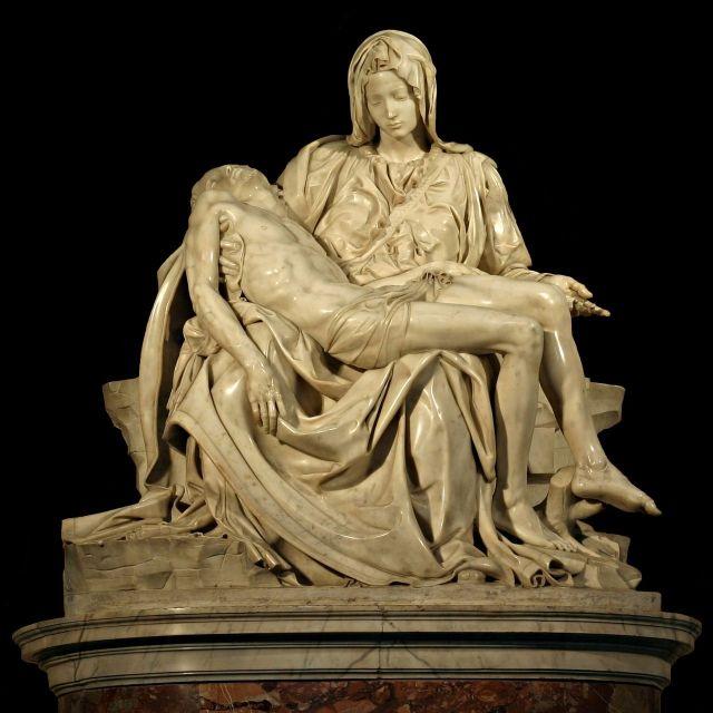 Michelangelo's_Pietà - Wikipedia