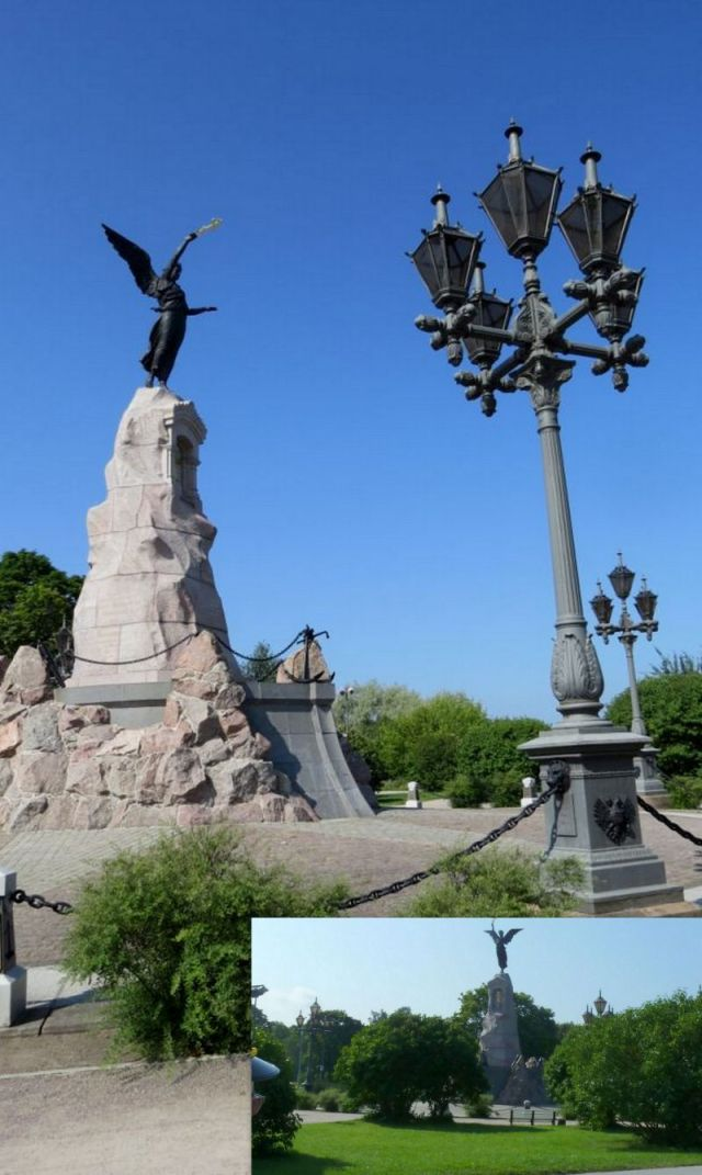 Pirita, Ruszalka szobor -Amandus Adamson (1902)