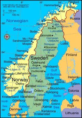 Skandinávia és Baltikum