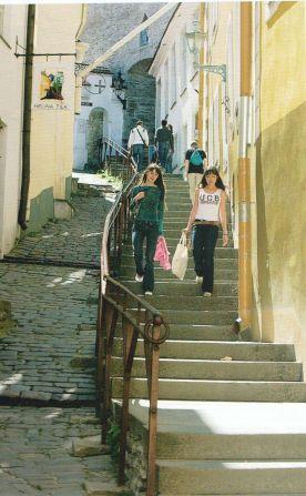 Tallinn, Rövid Láb lépcső