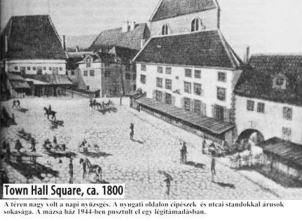 Városháza tér._ca._1800. -1