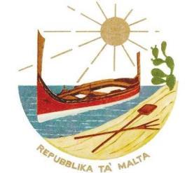 1975 EMBLEM OF MALTA