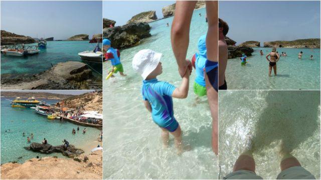 Fürdőzés, Kék Laguna
