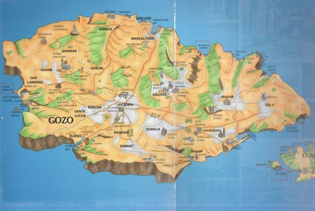 Gozo kiemelt látványosságok