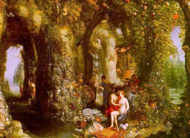 id. Jan Brueghel -Odüsszeusz_és_Kalüpszo nimfa