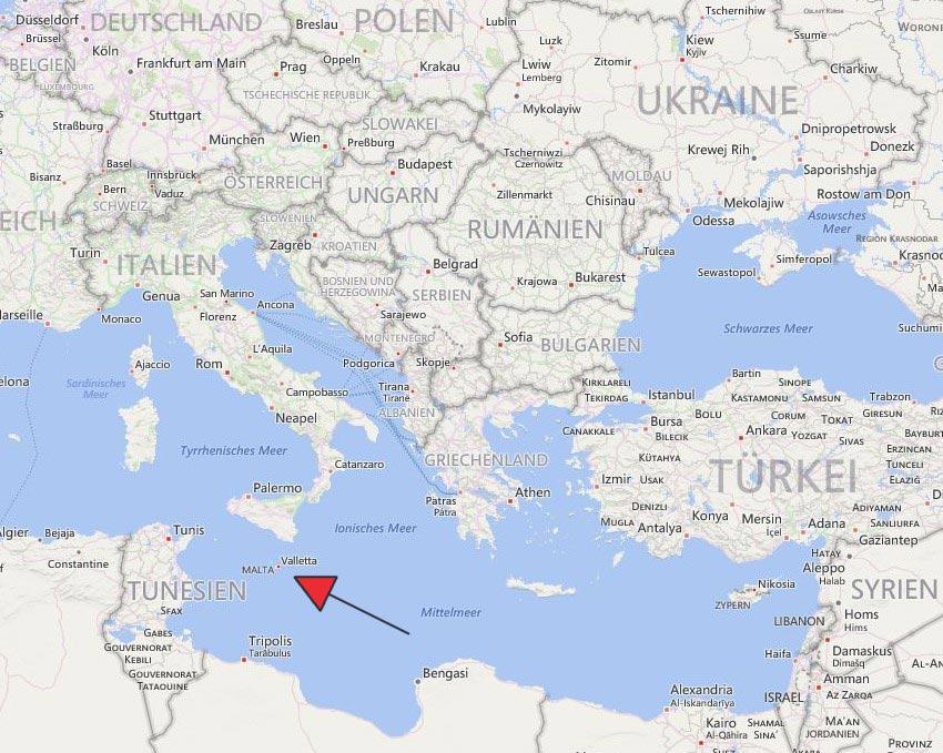 málta térkép Málta helye a térképen | Fölöttem a felhő