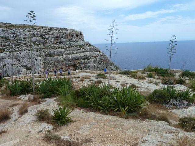 Málta P1670138 Kék barlang