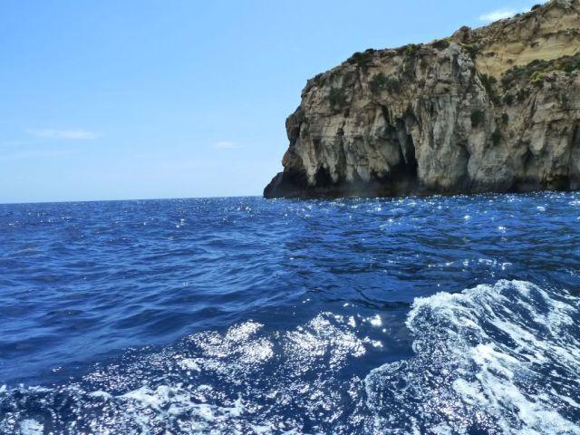 Málta P1670168 Kék barlang