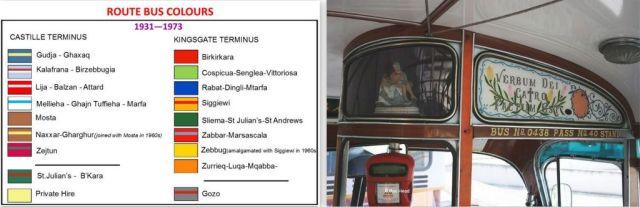Színes buszok útvonala