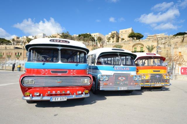vintage buses