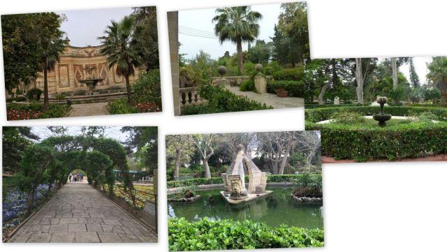 Málta, Attard- botanikus kert