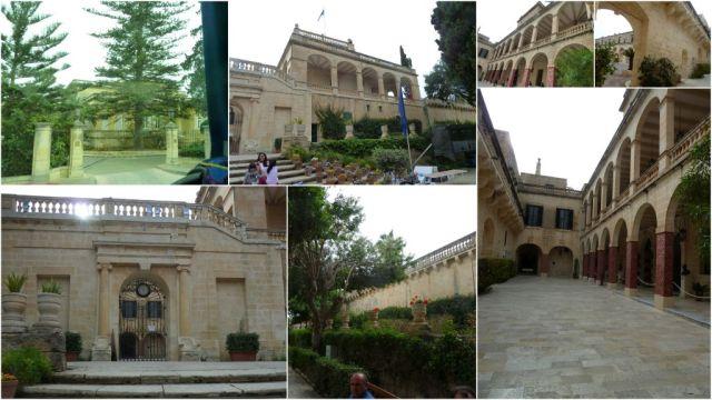 Málta, Attard, San Antonio Palace -kollázs