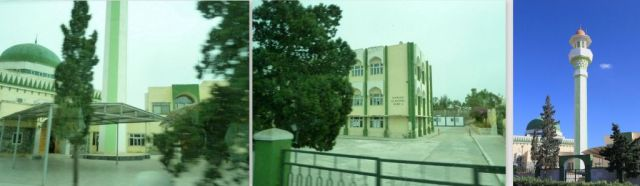 Paola, mecset és Mariam al Batool iskola