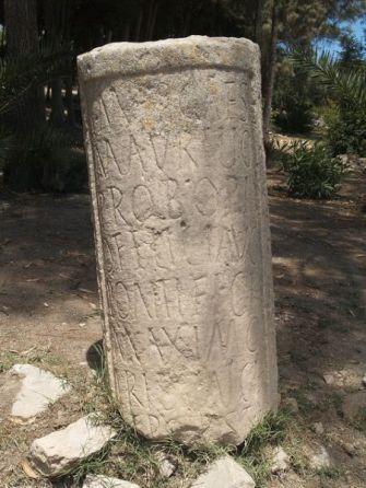 Cippus Probus at Carthage