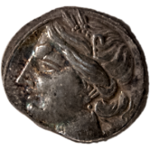 Coin_01_Punic_silver_coin, BC 220