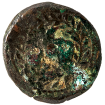 Coin_03_Romano-Maltese-bronze-sextans_Rev-Irás pun ANN, BC 211