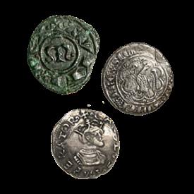 Középkori érmék