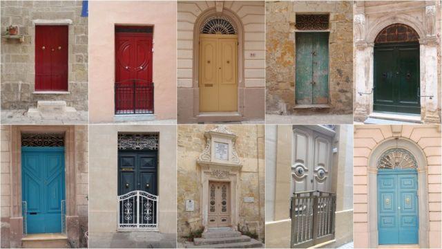 Máltai kapuk, kollázs