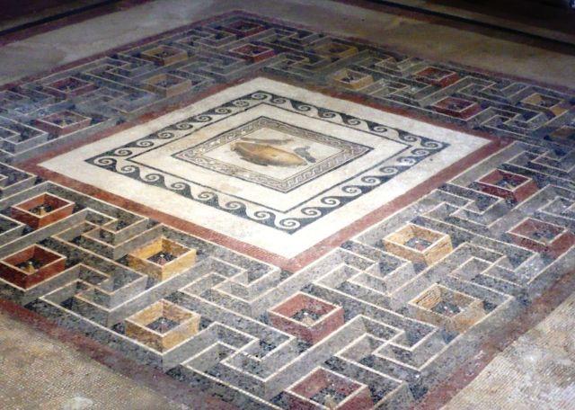Római villa, mosiac2 Rabat, Domus Romana