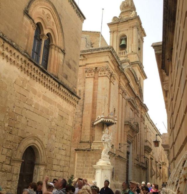 IMG_0268 3.nap V Mdina, Karmelita templom és kolostor