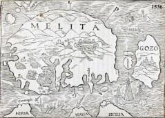 J. Quintin's Insulae Melitae Descpitio, 1536