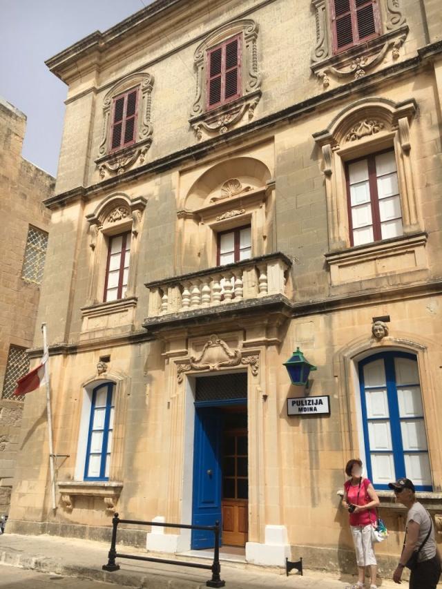 Málta IMG_4905 Zsu - Mdina, Triq Inguanez Rendőrség