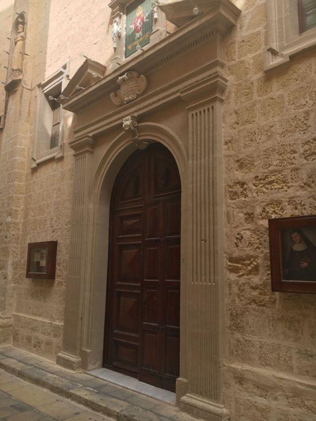 Málta IMG_4909 Zsu - Mdina, Szent Péter templom és monostor