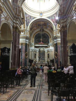 Málta IMG_4940 Zsu - Mdina Szent Pál katedrális