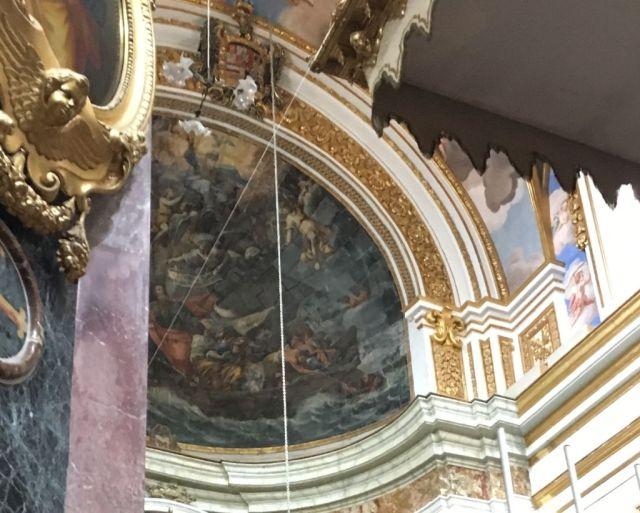 Málta IMG_4965 Zsu - Mdina Szent Pál katedrális- a hajótörés ferskó