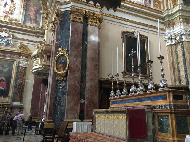 Málta IMG_4971 Zsu - Mdina Szent Pál katedrális