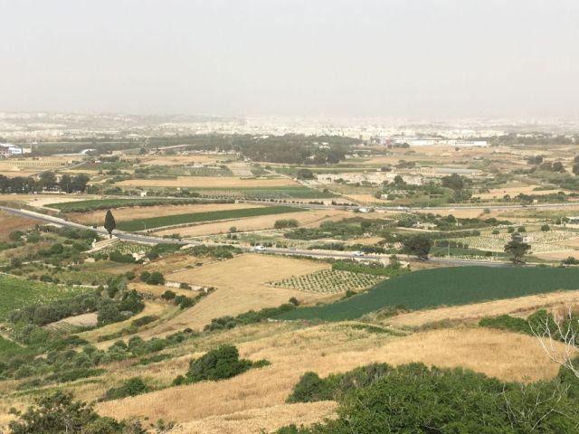 Málta IMG_4983 Zsu - Mdina, panoráma