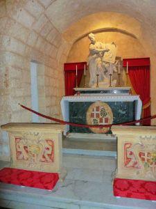 Málta P1680012 Rabat, grotto