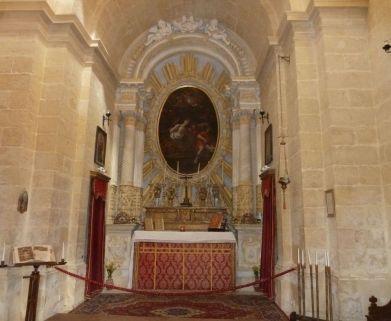 Málta P1680117 Mdina, St. Ágota kápolna Mattia Preti oltárkép
