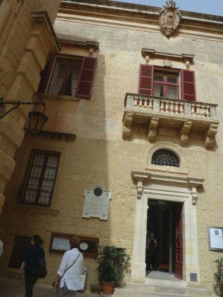 Málta P1680186 Mdina, Palazzo de Piro